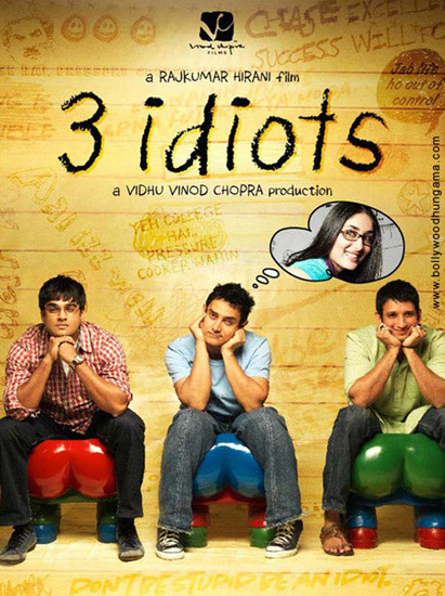 三傻大闹宝莱坞 3 Idiots (2009)~找回你的梦